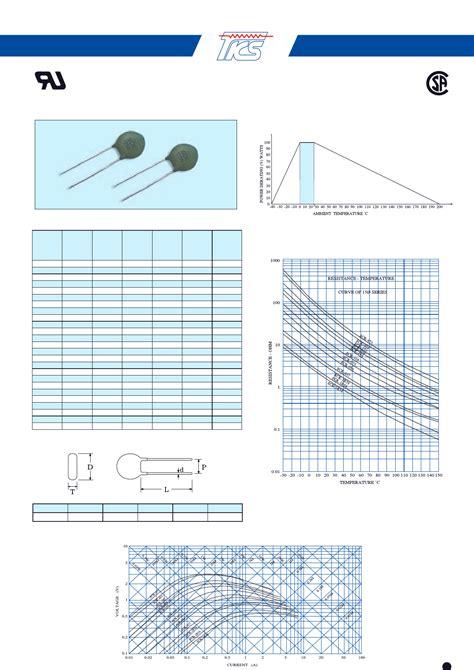 ntc thermistor sck 103 datasheet sck 048 hoja de datos datasheet pdf ntc power thermistor