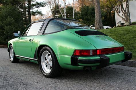 porsche 911 viper green viper green metallic 1980 porsche 911sc targa german