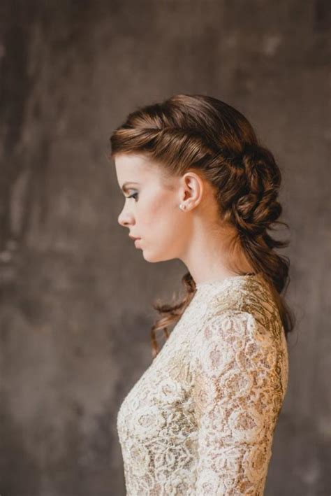 Vintage Wedding Hair by Hochzeits Nail Designs Vintage Inspirierte Brauthaar
