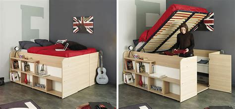 clever bed designs  integrated storage  max efficiency