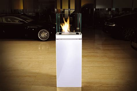 bioethanol fireplace high flame 17 liter stainless
