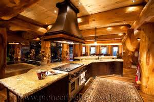 Home Interiors Kitchen by Log Homes Kitchen Amp Dining Image Gallery Bc Canada