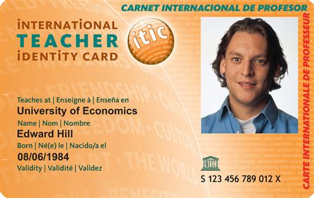 itic international teacher identity card kilroy