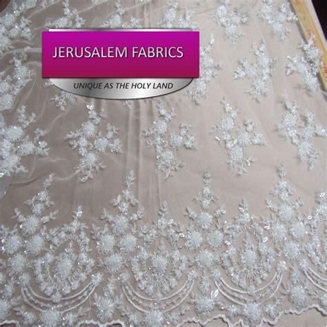 royalty bridal luxury wedding beaded white mesh lace