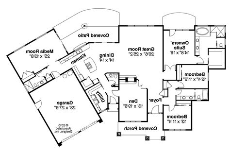 Prairie Floor Plans by Prairie Style House Plans Laurelhurst 30 994