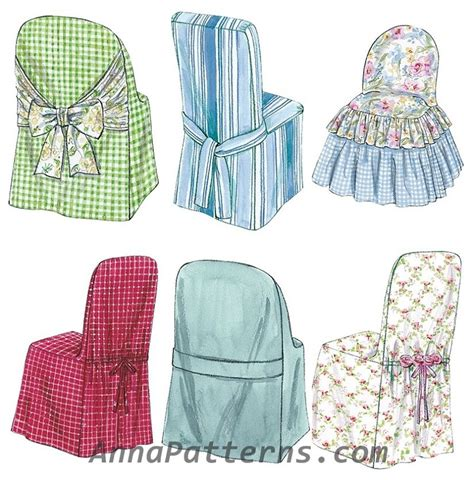 cover patterns sewing chair slip covers sewing pattern parsons ladder back