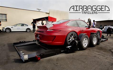airbagged trailers remorque porte voiture sur coussin d
