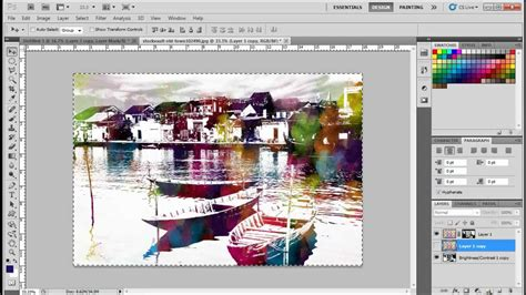 watercolor tutorial photoshop cs5 how to create a watercolor effects in adobe photoshop cs5