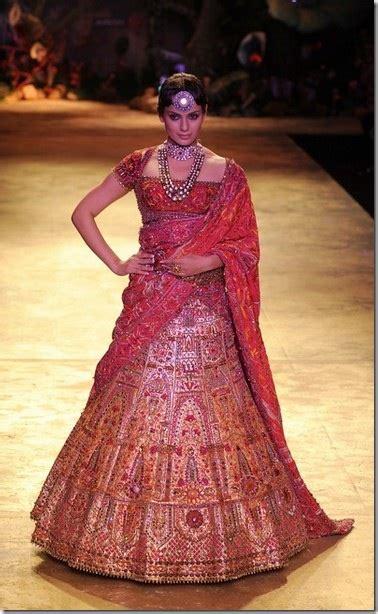 Rf Genaila Blouse kangna ranaut for jj valaya at delhi couture week 2010 sareetimes
