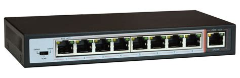 switch poe 8 poe switch for cctv ip cameras power ethernet