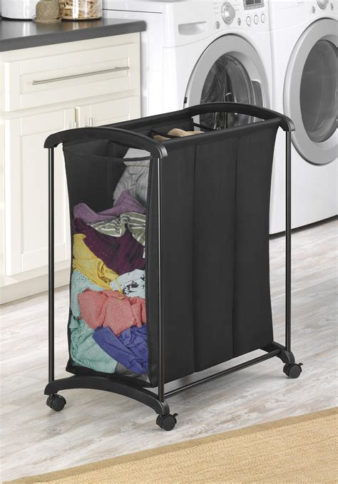 laundry sorter 4 section black 4 section laundry sorter sierra laundry using 4