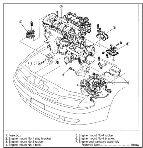 2000 mazda protege engine diagram wiring diagram with