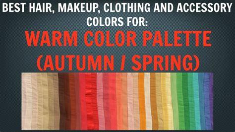 warm autumn color palette warm autumn color palette best free home design idea