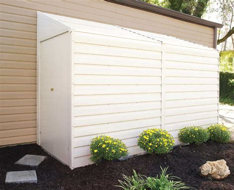 Lean To Metal Shed by Arrow Yardsaver 4x10 Lean To Metal Shed Ys410 Free