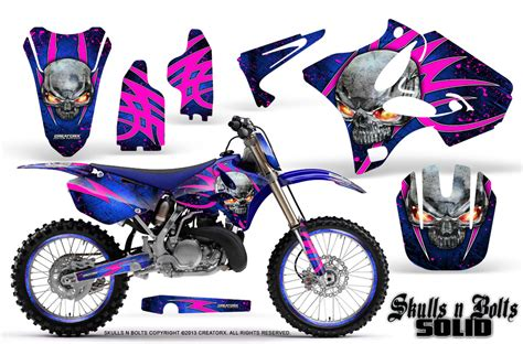 Pinkes Motorrad 125 by Yamaha Yz125 Yz250 2 Stroke 2002 2014 Graphics Creatorx
