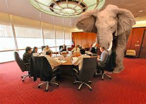 What Does The Elephant In The Room by Working From Home Confronting The Elephant On