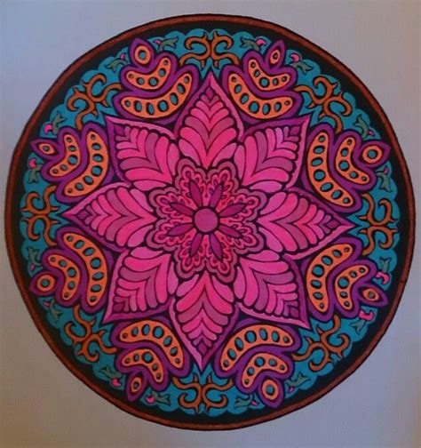 mandala coloring book pens mandala color with gel pens by judy soto coloring