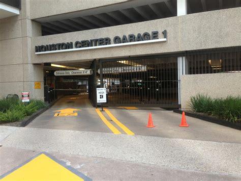 Houston Garage by Houston Center Garage 1 Parking In Houston Parkme