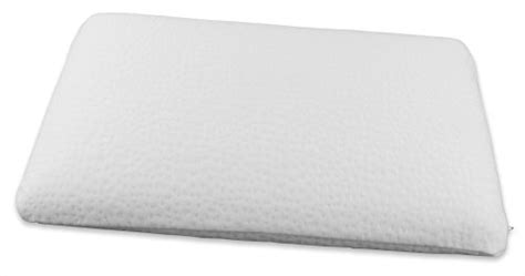 Thin Firm Pillow by Just Height Quot Ultra Slim Quot Memory Foam Pillow By Bristol