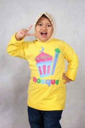 Baju Tshirt Kaos Sholat Lima Waktu bibo collection baju muslim anak telekung gamis anak koko anak grosir retail