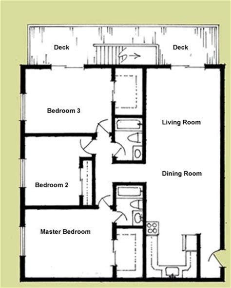 modern 3 bedroom house floor plans garage and apartment plans images best 25 studio