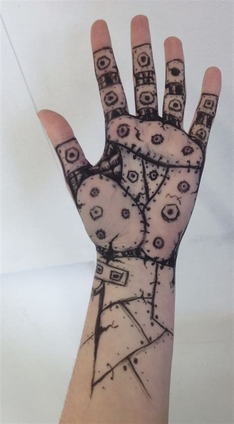 robot hand tattoo robot by helliatrix on deviantart