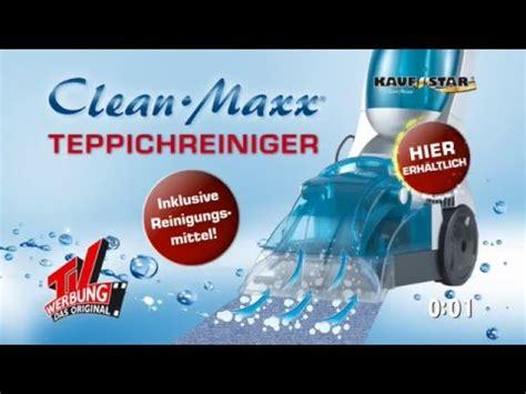 teppich reiniger clean maxx teppichreiniger