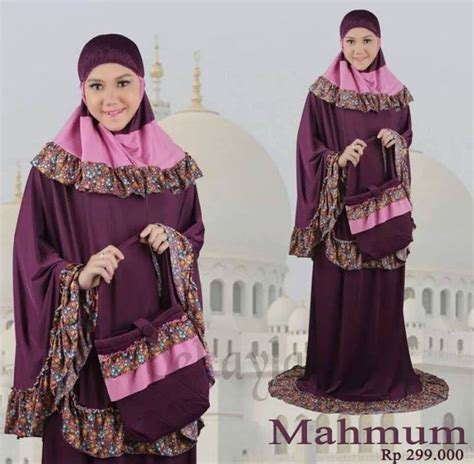 Gamis Nomina 2 mukena mahmum by dekayla po sekitar 1 minggu pusat busana muslim newhairstylesformen2014