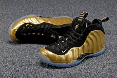 foams for sale 2016 nike air foosite one metallic gold for sale