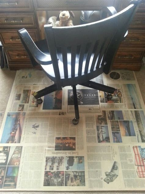 Make Your Own Office Chair Mat by Diy Chair Mat Started W About An 8 Of Plywood