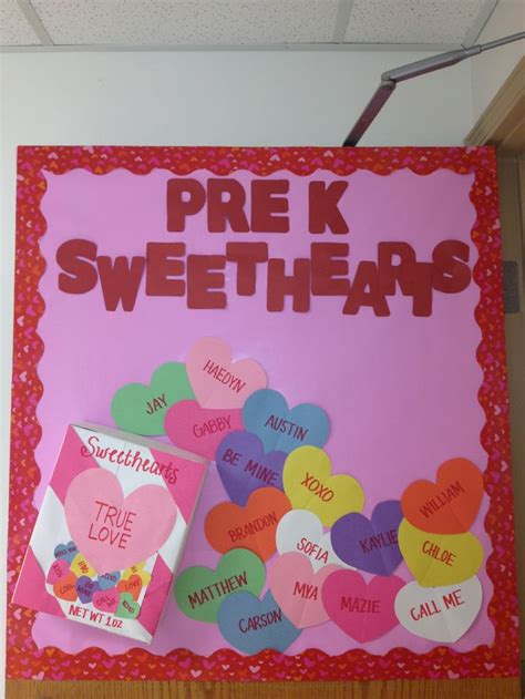 pre valentines s day bulletin board kinderland collaborative