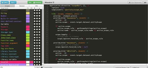 tmtheme editor herokuapp sublime text 2 3 自定义主题颜色 color scheme 生成器 爱程序网