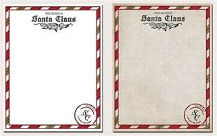 Printable Santa Claus Letter Template How To Get A Letter From Santa Postmarked North Pole It S