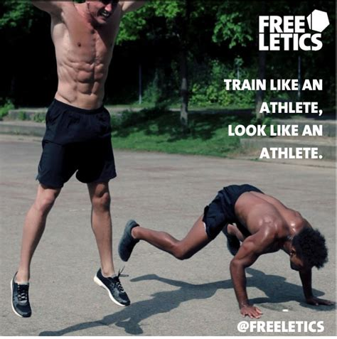 freeletics workouts no excuses like an athlete