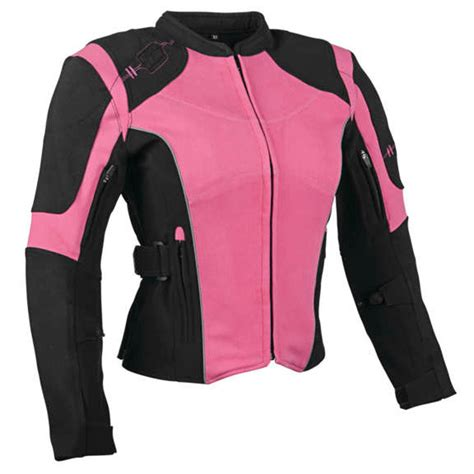 pink motorcycle jacket 299 95 speed strength womens comin in textile 263972