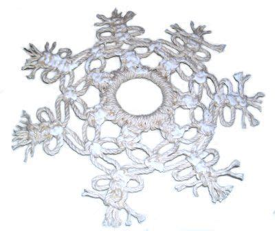 pattern macrame snowflake 14 best images about winter crafts on pinterest window