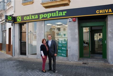 oficinas la caixa valencia capital caixa popular abre una nueva oficina en chiva valencia plaza