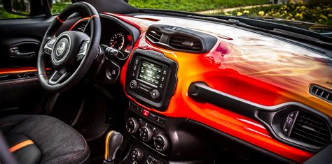 jeep renegade dashboard jeep renegade hell s revenge concept unveiled news driven