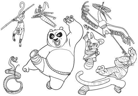 imagenes de kung fu panda para colorear dibujos para colorear maestra de infantil y primaria