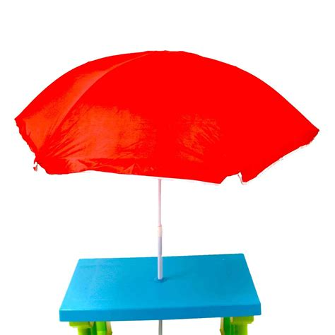 kids bench table kids childrens picnic bench table outdoor furniture with parasol 163 34 99 oypla