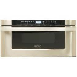 Home Depot Microwave Drawer by Sharp Refurbished Insight Pro 1 2 Cu Ft Microwave Drawer