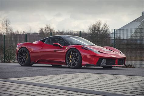 widebody ferrari red prior design ferrari 458 italia widebody gtspirit