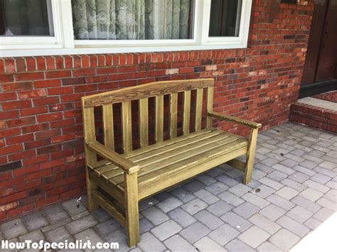 easy 2x4 bench diy simple 2x4 bench howtospecialist how to build