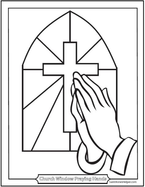 coloring pages of christian symbols 35 best praying hands images on pinterest hands praying