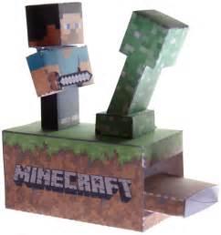 Minecraft Papercraft Overworld - steve vs creeper papercraft minecraft machine