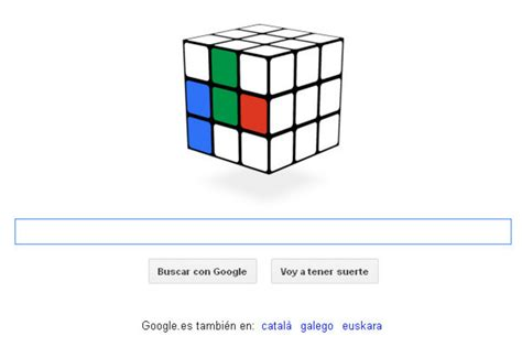 doodle do cubo magico el cubo de rubik nuevo doodle de
