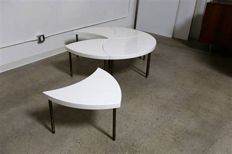 modular coffee table modernist modular quot pinwheel quot coffee table at 1stdibs