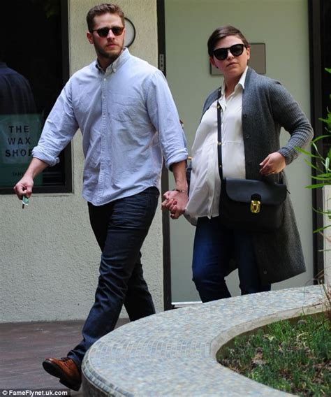 ginnifer goodwin looks days away from giving birth at