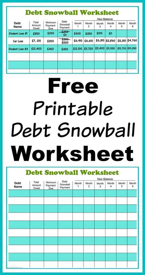 Debt Snowball Worksheet by 25 Beste Idee 235 N Debt Snowball Op Dave