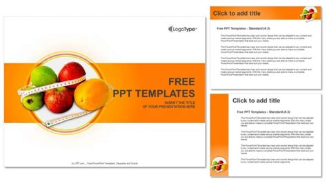 free nutrition powerpoint templates diet and nutrition powerpoint templates